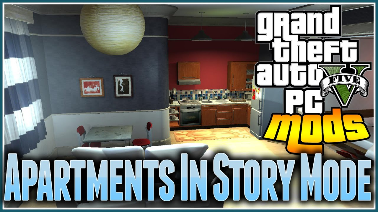 Gta 5 PC MODS - Online Apartments In Single Player, Old ...