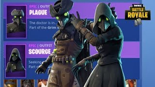 *NEW* PLAGUE SKIN + SCOURGE SKIN NEW ITEM SHOP UPDATE (Fortnite Battle Royale)