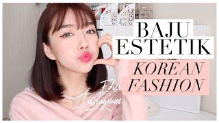 UNBOXING BAJU2 ESTETIK INSTAGRAM KOREA Somedays Roem Like Salon