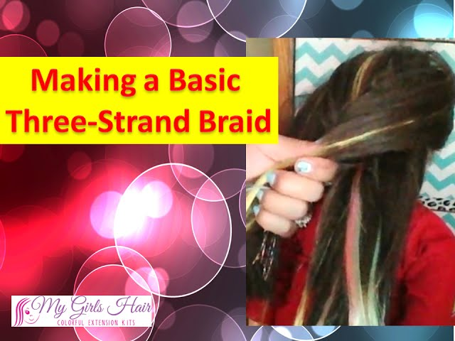 Make a Basic Three-Strand Braid