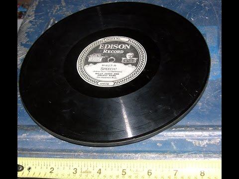A Sampler Of Edison Diamond Discs (16 sides) laneaudioresearch-2016
