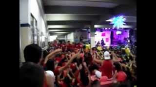 Gincana Leopoldo Santana 2012 TARDE - Grito De Torcida Equipe VERMELHO TARDE!