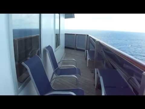 Carnival Freedom Aft Wrap Balcony - 8455