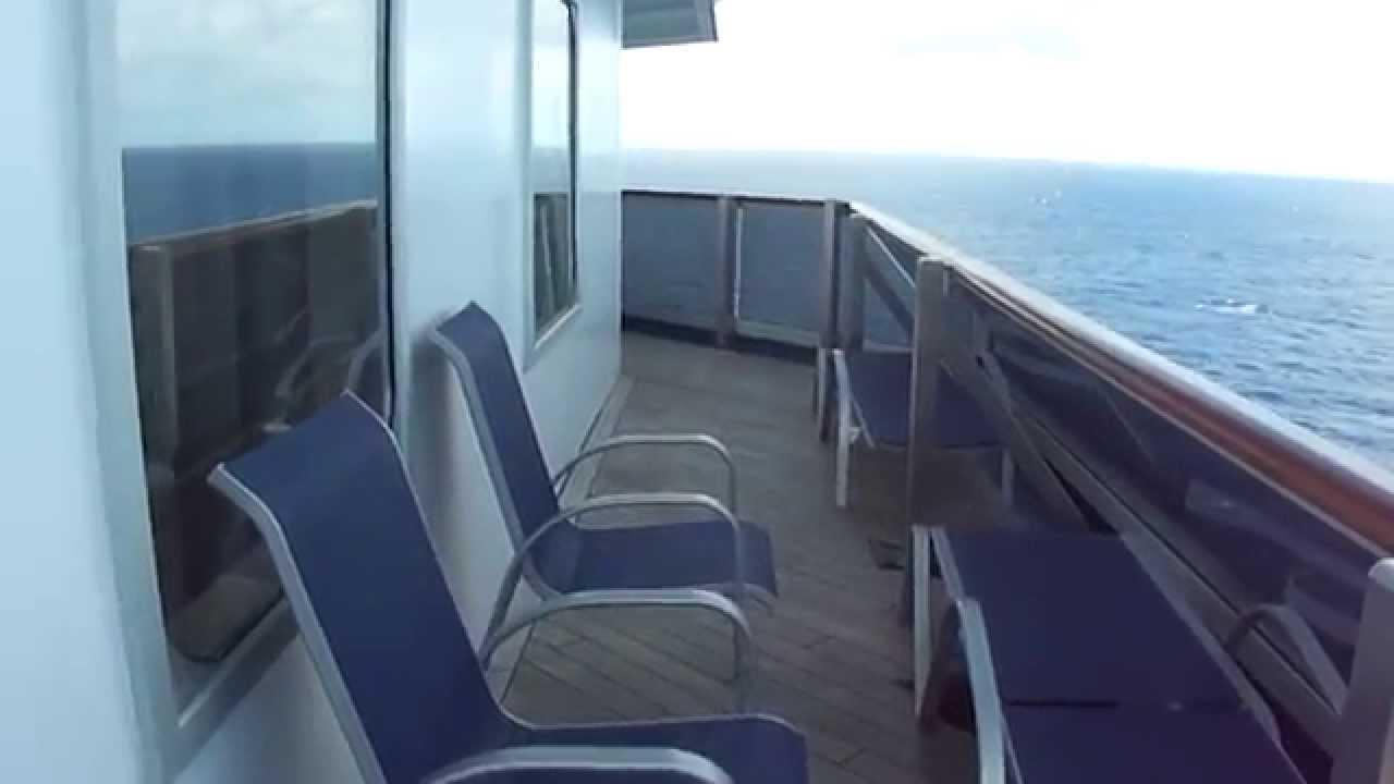 Carnival Freedom Aft Wrap Balcony 8455 Youtube