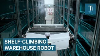 This French Retailer Uses Shelf-Climbing Robots In Its Warehouse