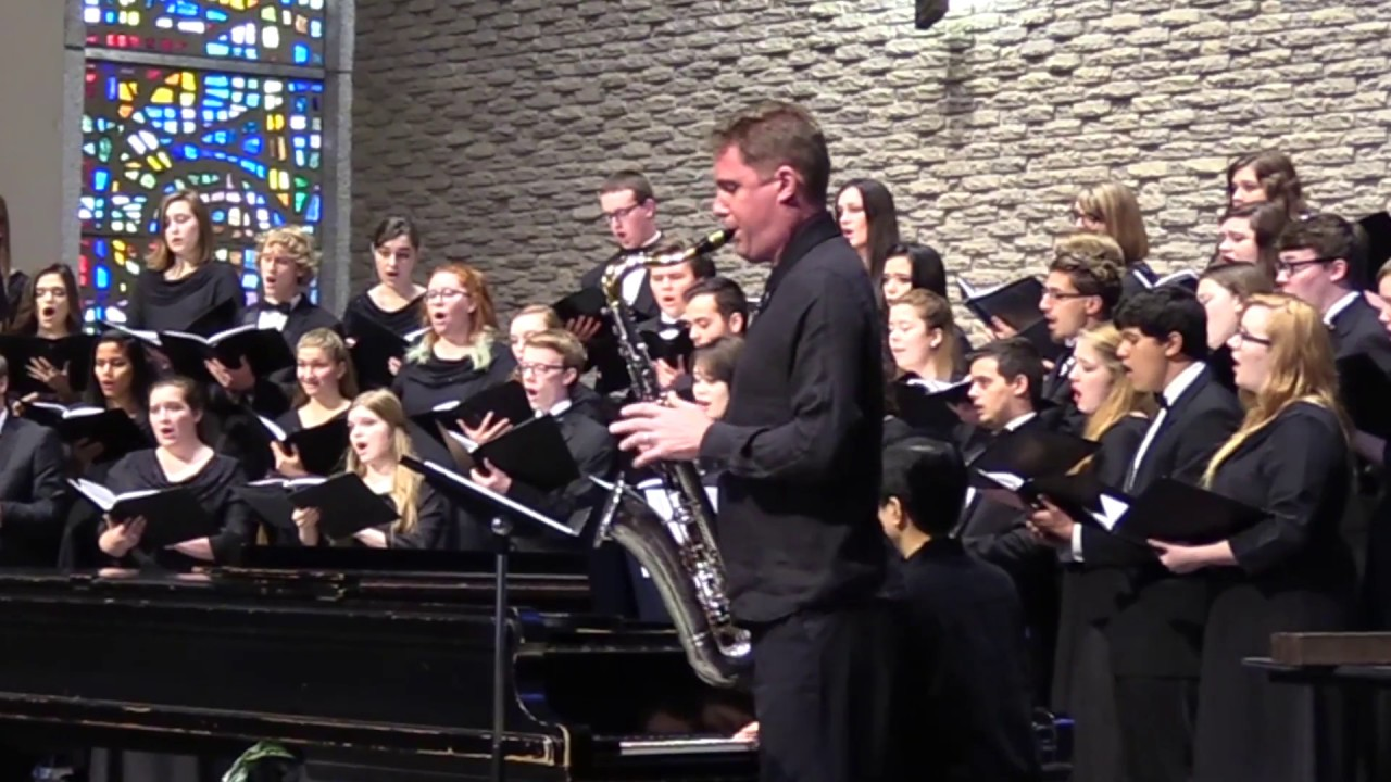 Evening Prayer | Ola Gjeilo | Dave Camwell | Simpson College Choir