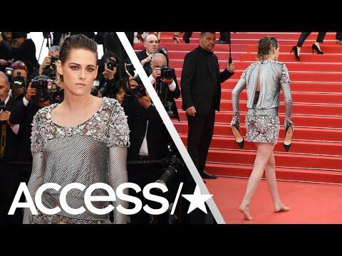 Kristen Stewart Goes Barefoot At The 2018 Cannes Film Festival