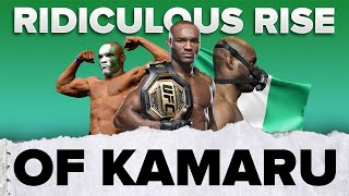 The RIDICULOUS rise of Kamaru Usman 🏆 | #shorts