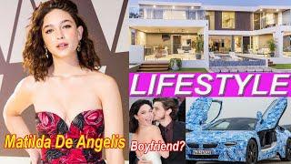 Matilda de angelis (actress) lifestyle, biography, net worth, age, boyfriend, family, caree, hobbies, profession, height, weight, wiki, bio, fact ! her celeb...