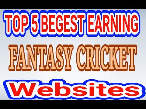 Top 5 Biggest Earning Fantasy Cricket Website Like Dream11 Must Watch In Hindi 2018
