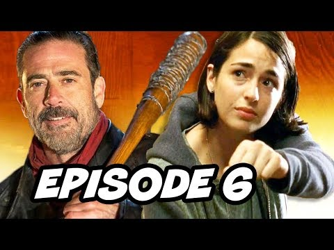 Walking Dead Season 7 Episode 6 - TOP 10 WTF and Easter Eggs