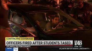 Atlanta officers terminated after using stun gun on AUC students