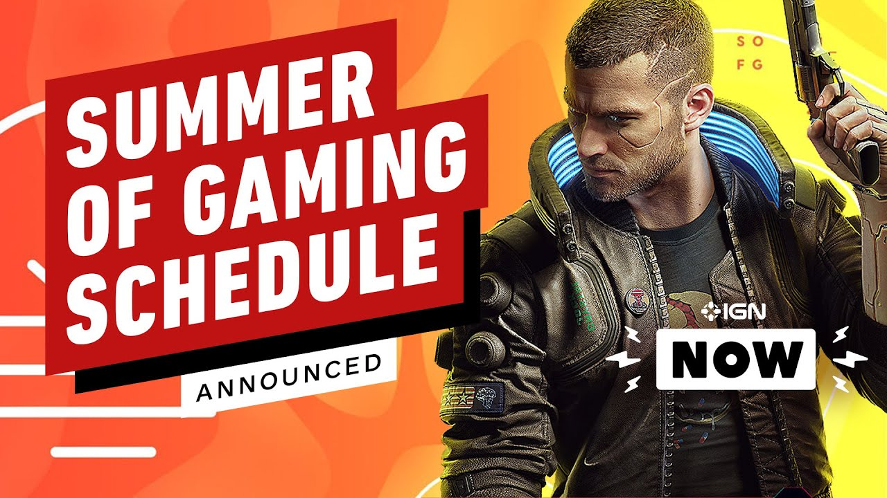 Summer of Gaming Schedule Announced