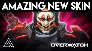Overwatch | Amazing New Skin Genji Oni Skin & How To Get It