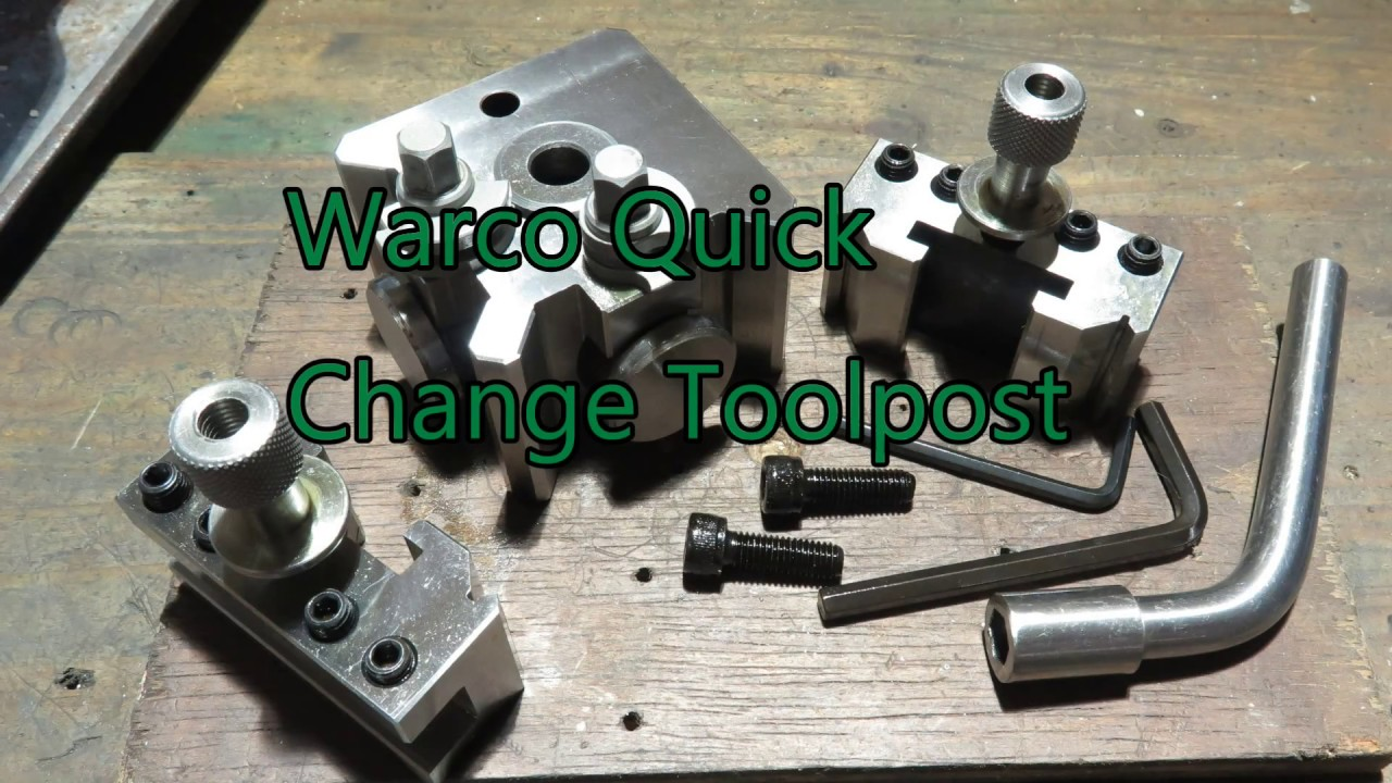 Warco 250V Lathe and Family Warco Quick Change Tool Post