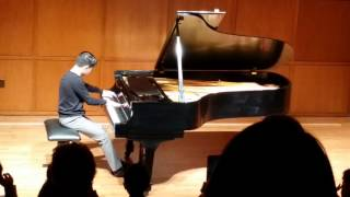 Michael Tsang performs Rachmaninoff Prelude in C sharp Minor Op 3 No 2 SMU Piano Prep