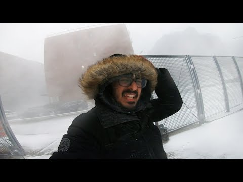New York City Snow Squall January 30th 2019 (CRAZY WINTER STORM)