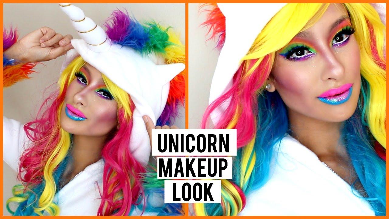 Unicorn Makeup Look Youtube