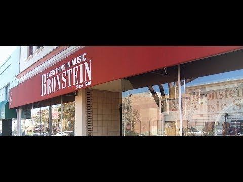 Bronstein Music in South San Francisco   Store Closing!!