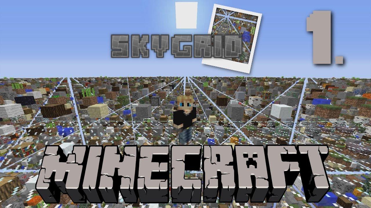 la map skygrid minecraft