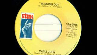 Mable John - Running Out