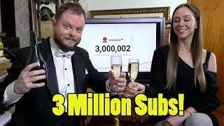 Celebrating 3 Million Subscribers!