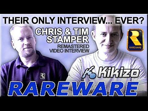 Chris and Tim Stamper (Rare founders) in 2002 - Their Only Interview?  Kikizo
