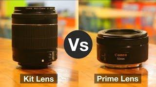 জুম/কিট লেন্স এবং প্রাইম লেন্স এর মধ্যে পার্থক্য || The Difference Between Kit/Zoom And Prime Lens
