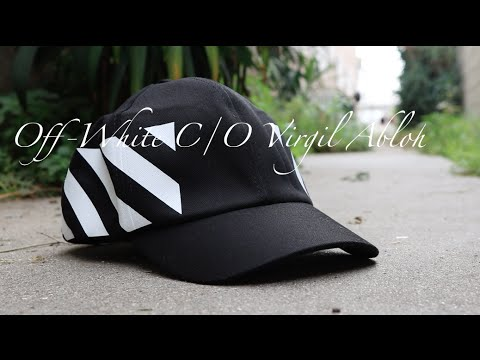 db0cf5151fb Off-White Virgil C O Virgil Abloh Baseball Cap + Review - YouTube