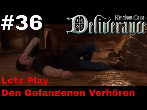 Kingdom Come Karte Komplett.Den Gefangenen Verhoren Let S Play Kingdom Come Deliverance 36 Ps4 Pro Deutsch German