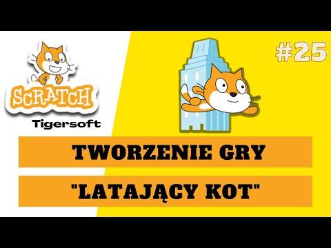 Latający kot  - Gra w Scratch - poradnik