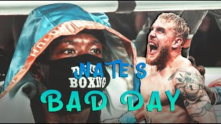 #RIP | Nate Robinson's epic FAIL in 'professional' boxing. KO'd by Jake Paul in 2nd