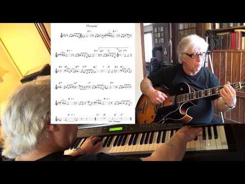 Moanin' - guitar & piano jazz cover - Yvan Jacques