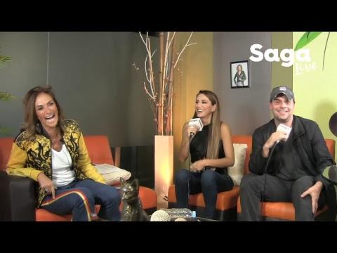 #SagaLive - Ninel Conde, Christian Martinoli y Allen Husker