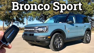 All-New 2021 Ford Bronco Sport BADLANDS | Ready For Adventures!