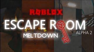Meltdown Walkthrough | Escape Room | Roblox