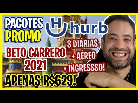 VIAJE EM 2021! PACOTE BETO CARRERO COM AÉREO + 3 DIÁRIAS E INGRESSO POR R$629!