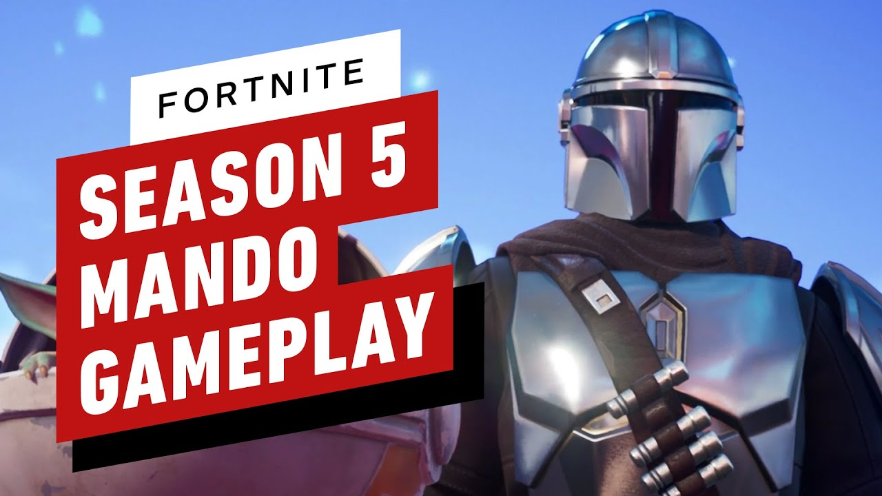 Fortnite Season 5 The Mandalorian Skin Gameplay Youtube The popular online action game kicked off its fifth season wednesday, called zero point. fortnite season 5 the mandalorian skin gameplay