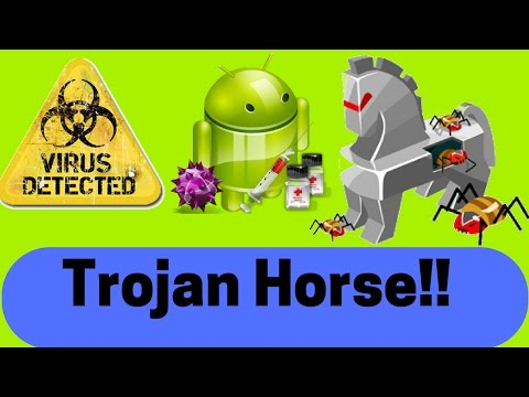 [Hindi]What/How The Trojan Horse Virus Infect Smartphone or PC ?