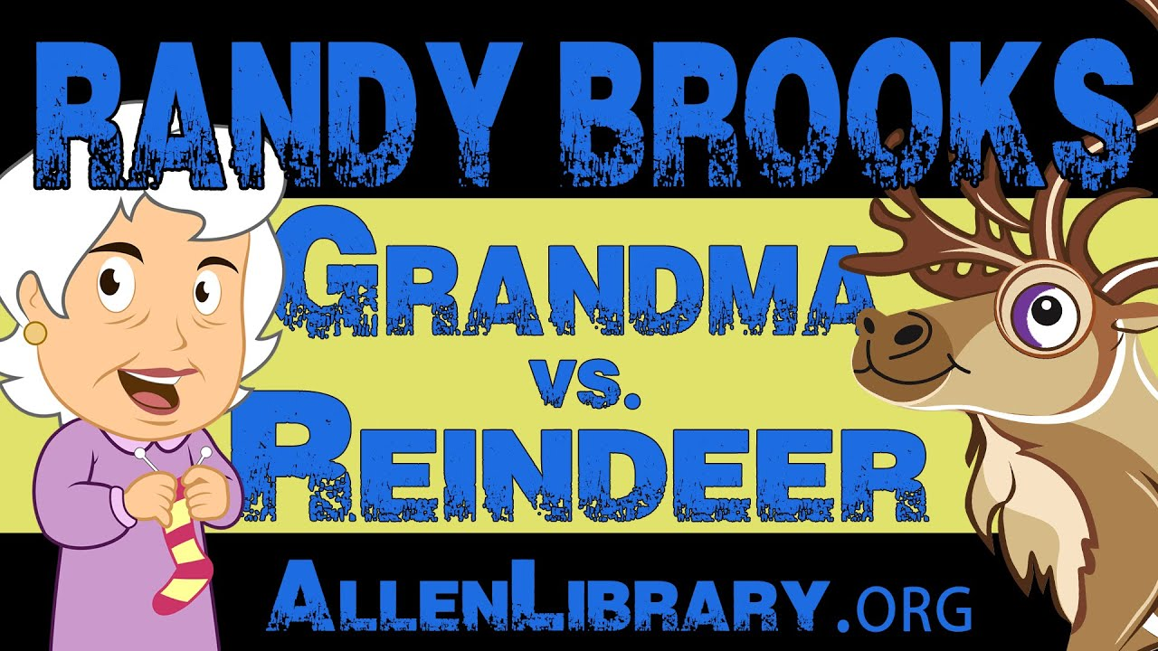 songwriter randy brooks grandma got run over by a reindeer youtube