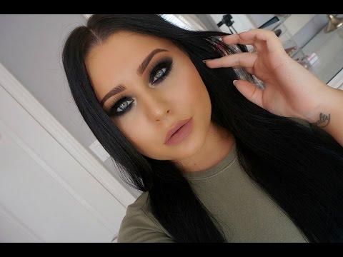 Black Smokey Eye Makeup Tutorial: part 5