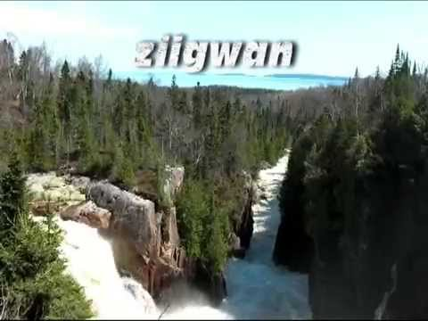 Four seasons in Ojibwe language