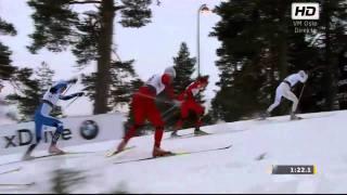 VM Sprint Finale Holmenkollen 2011 - Marcus Hellner vs Petter Northug