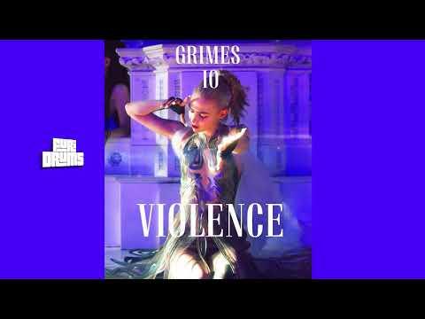 Grimes I O - 💜 Violence 💜 FUri DRUMS Heavenly House Remix FREE