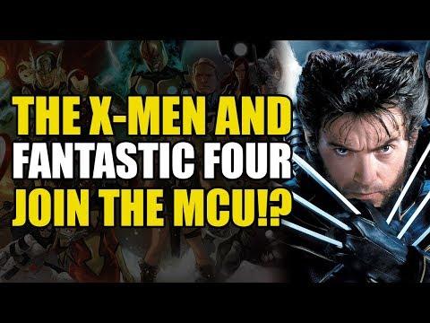 X-Men & Fantastic Four Join The MCU!?