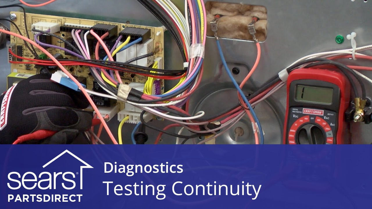 How To Test Continuity On Wires And Electrical Parts Youtube Power Supply White Glue Circuit Board Engineering