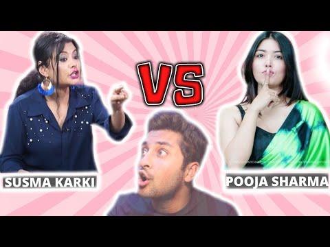 | SUSHMA KARKI VS POOJA SHARMA | EXCLUSIVE INTERVIEW | 🔥😱😭