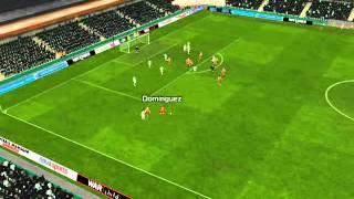 Panthrakikos vs Olympiakos - Dom�nguez Goal 24 minutes