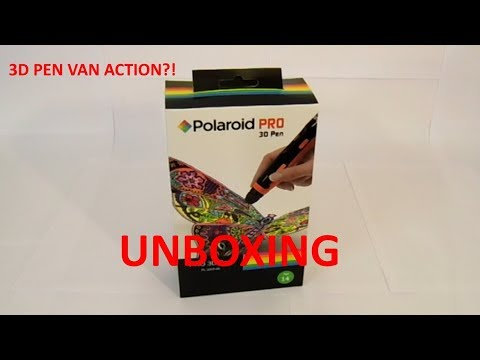 3D PEN VAN DE ACTION (Unboxing)