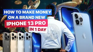 How to make moฑey on the Internet 2021 on IPHONE 13 Pro even for a schoolchild - trading 2021 using